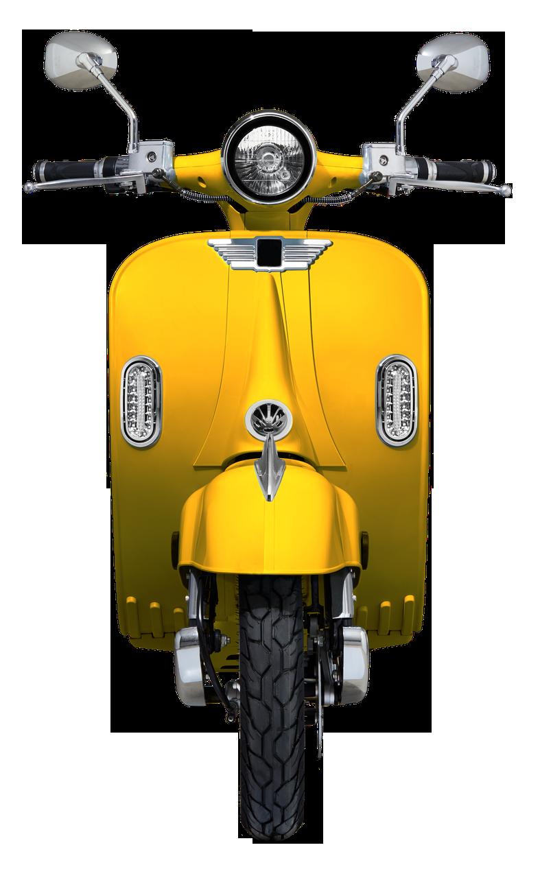 CityCoco EV2000 električni skuter retro izgleda poput vespe. Motor 2-3kW, 20-40 Ah baterija, domet 50-100 km.