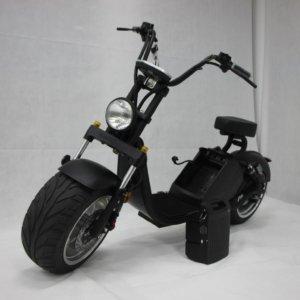 street max 3.0 elektricni skuter - mat crni