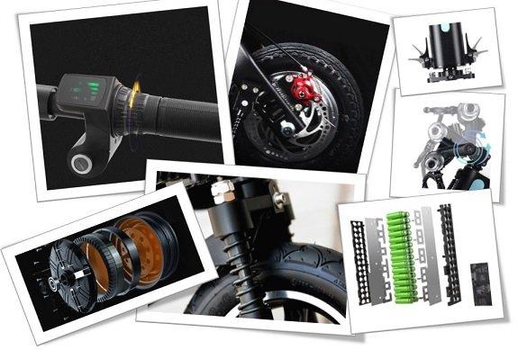 ji-move, citycoco m1 , sklopivi električni skuter, mi, foldble, kickscooter, e bike, escooter