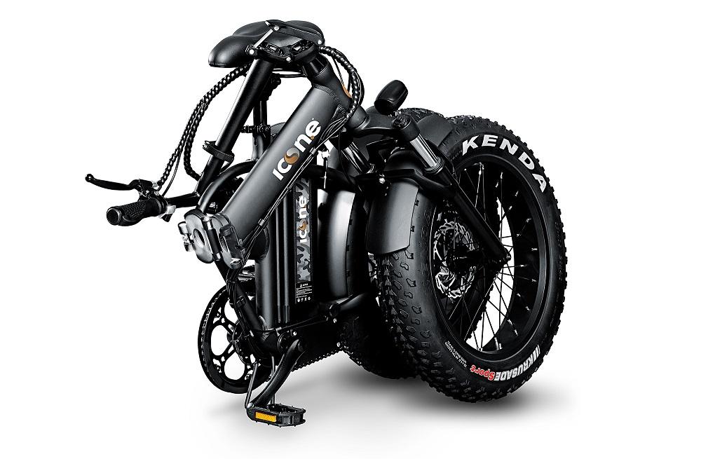 električni bicikl, električni sklopivi bicikl, marines black,preklopni bicikl, icon.e, icon, bike, bicycle, citycoco, skuter, pedelec, pedalec, kenda ,shimano