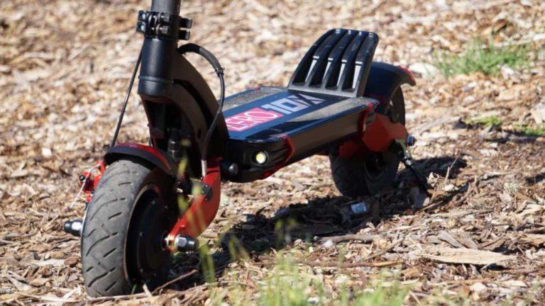 ZERO 10X električni romobil - ovjes i gume