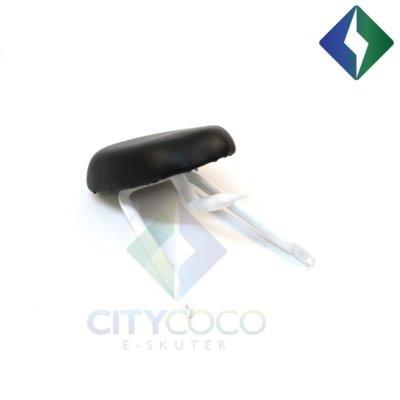 Okvir sjedala za suvozača za CityCoco električni skuter model III - bijelo