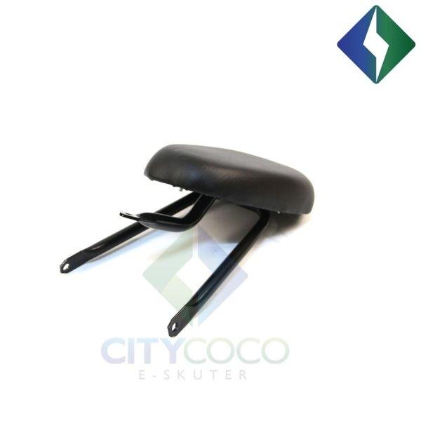 Okvir sjedala za suvozača za CityCoco skuter model III - crni