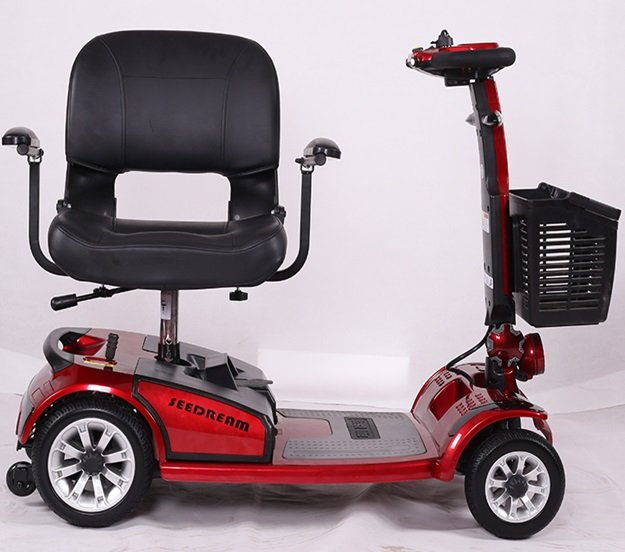 VS2 električno vozilo za starije i slabije pokretne osobe