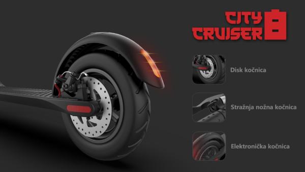 city cruiser 10 električni romobil 350W 10Ah citycoco