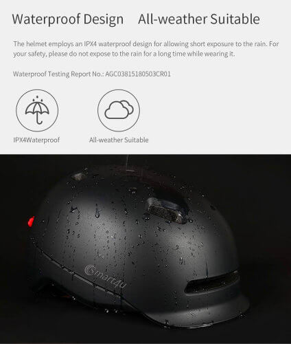 xiaomi-helmet-smart4u-black-ipx4 waterproof (1)