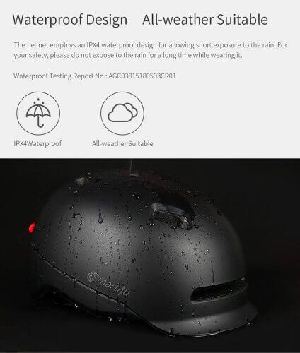 xiaomi-helmet-smart4u-black-ipx4 waterproof (1)