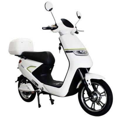 Volta VSNL bijeli električni bicikl s litij-ionskom baterijom