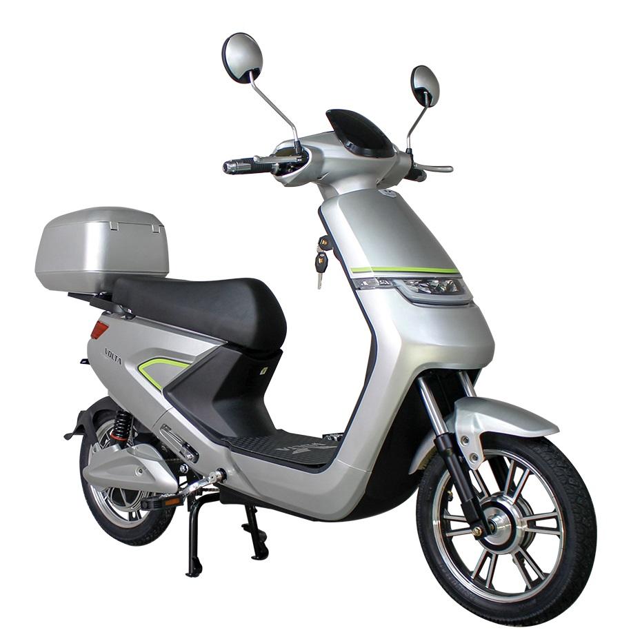 Volta VSNL srebrni električni bicikl litij-ionska baterija