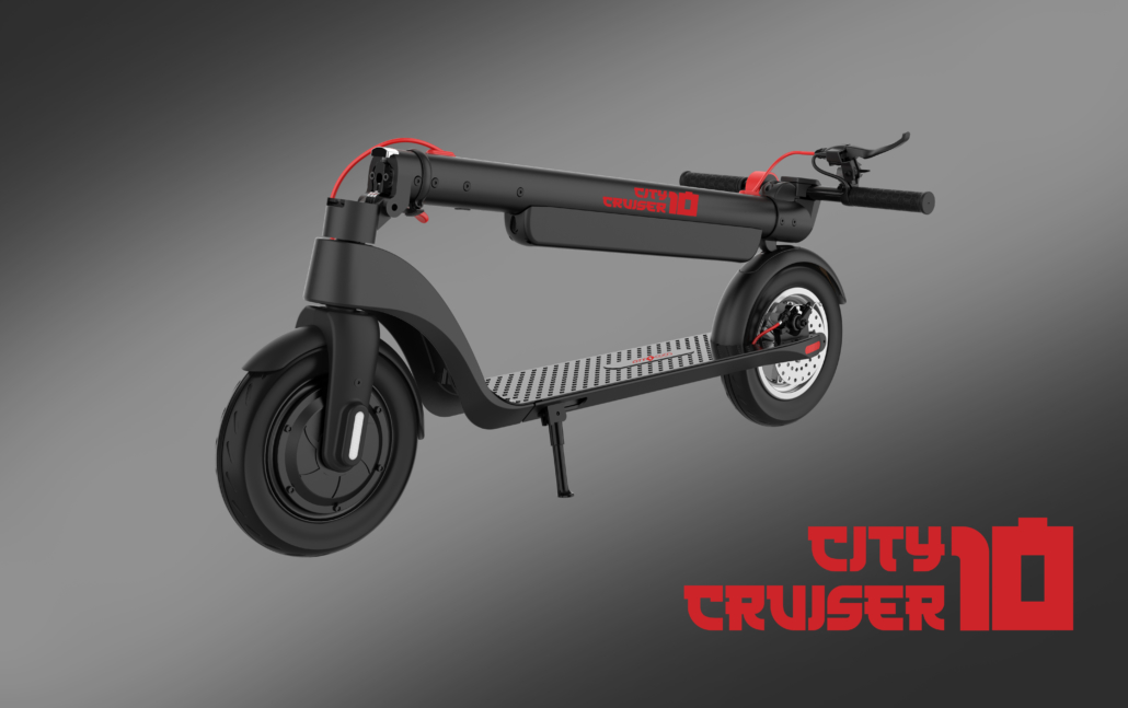 city cruiser 10 sklopivi romobil električni romobil 350W 10Ah citycoco