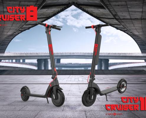 CityCoco City Cruiser 8 i 10 električni romobil s izmjenjivom baterijom
