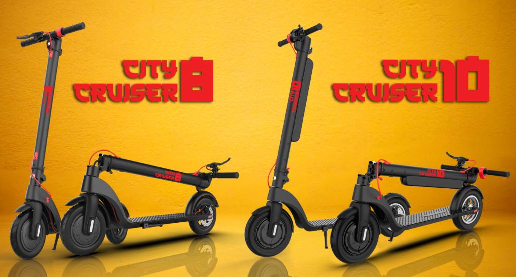 Najbolji gradski električni romobil s izmjenjivom baterijom, City Cruiser 8 i 10