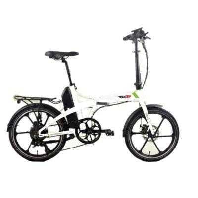 rks elektricni sklopivi bicikl mx7 bijeli