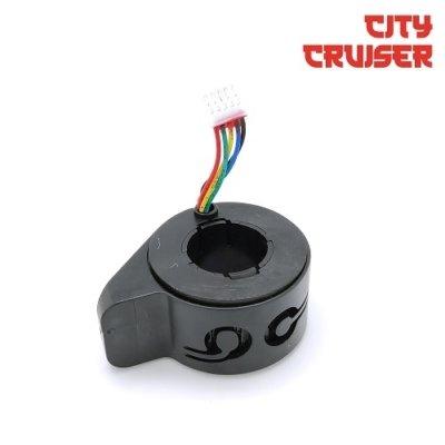 Akcelerator s funkcijskim tipkama za City Cruiser 8 električni romobil