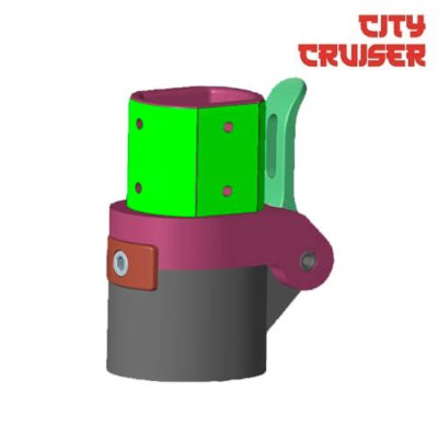 Preklopni mehanizam za City Cruiser 8 i 10 električni romobil