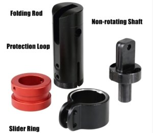 Zero 10x Folding System Looop Rod Non-rotating Shaft Slider Ring 5