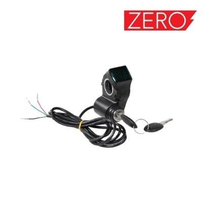 Key Lock, Brava s ključem i indikatorom baterije for Falcon PEV Zero 10x, Zero scooter, Turbowheel lightning, Bexly, Unicool, Speedual, Macury, Eco Speed, Robbo Next, Red Baron, Eco Drift, Zax Board Titan