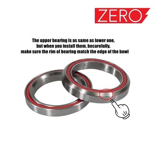 Rocker bearing, Ležaj for Falcon PEV Zero 10x, Zero scooter, Turbowheel lightning, Bexly, Unicool, Speedual, Macury, Eco Speed, Robbo Next, Red Baron, Eco Drift, Zax Board Titan