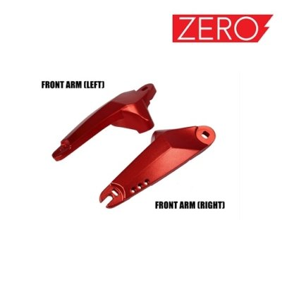 Front Rocker arm left right, Lijeva desna ruka prednje vilice for Falcon PEV Zero 10x, Zero scooter, Turbowheel lightning, Bexly, Unicool, Speedual, Macury, Eco Speed, Robbo Next, Red Baron, Eco Drift, Zax Board Titan