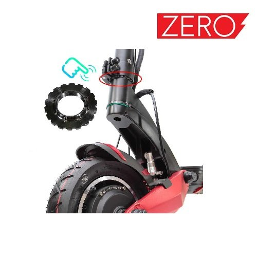 Graničnik upravljača, Gear block for Falcon PEV Zero 10x, Zero scooter, Turbowheel lightning, Bexly, Unicool, Speedual, Macury, Eco Speed, Robbo Next, Red Baron, Eco Drift, Zax Board Titan