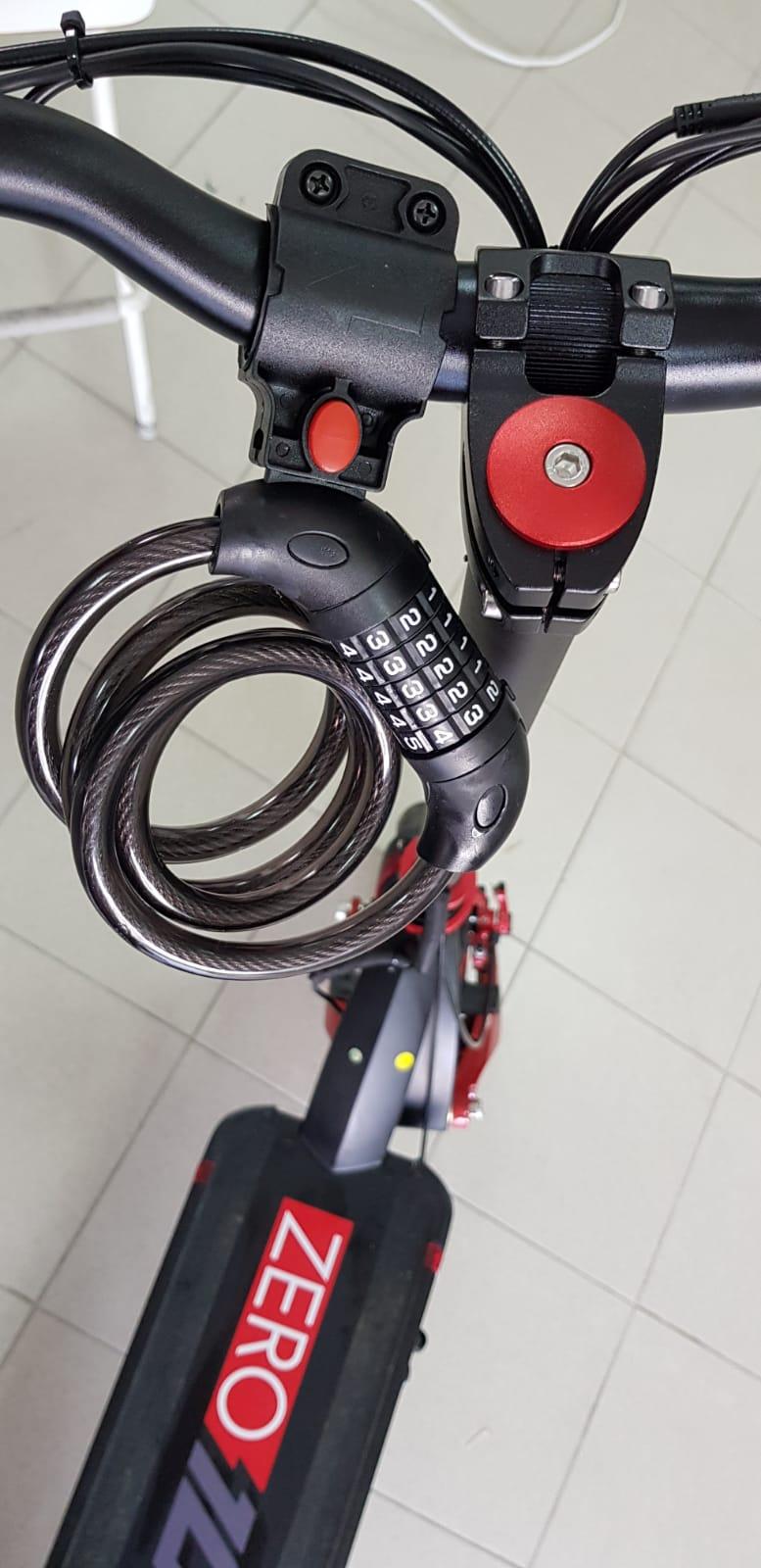 KY-XA33 sajla sa sifrom 1,2m za zaključavanje električnog romobila ili bicikla