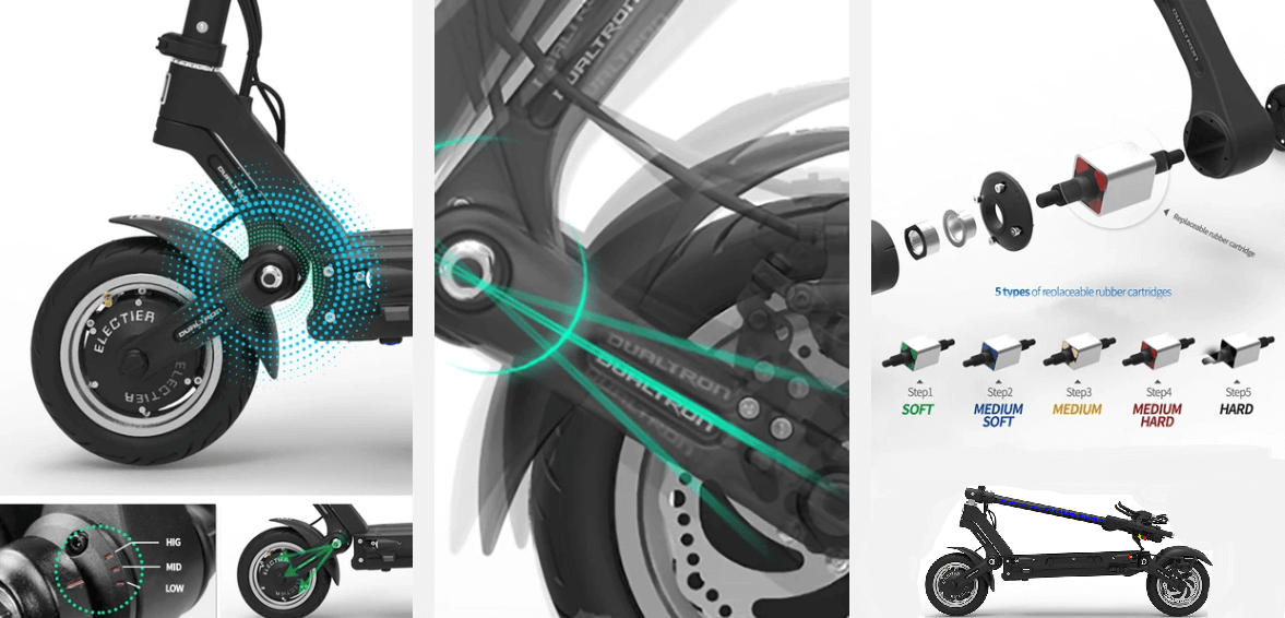 electric scooter Dualtron 3 banner