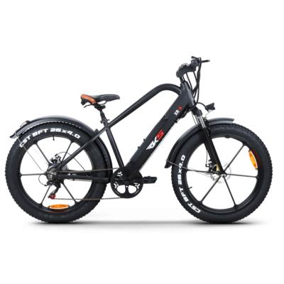 elektricni bicikl XR-6 black