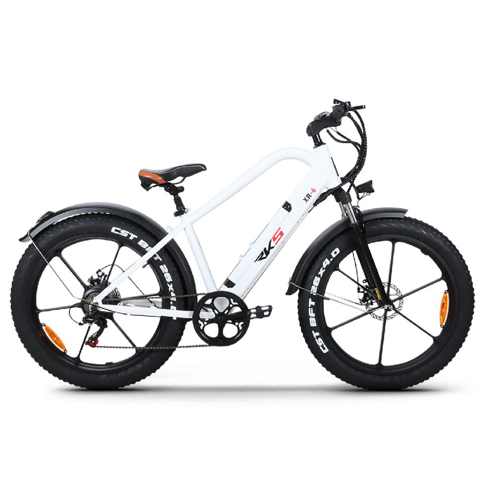 elektricni bicikl XR-6 white
