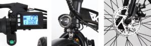 elektricni sklopivi bicikl RKS GT25 details banner