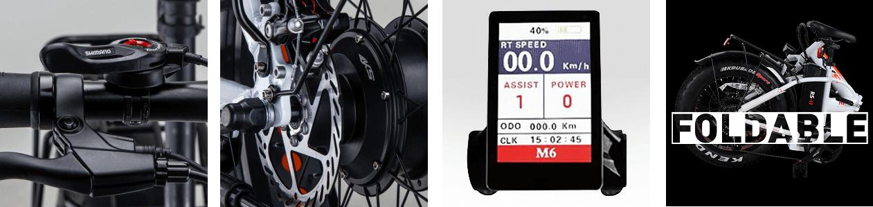 elektricni sklopivi bicikl RKS RS IV (banner details)