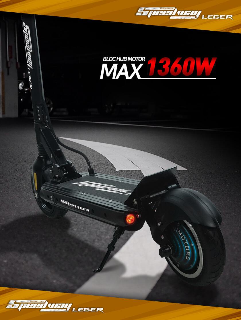 speedway leger motor 1360w