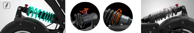suspension for dualtron x escooter