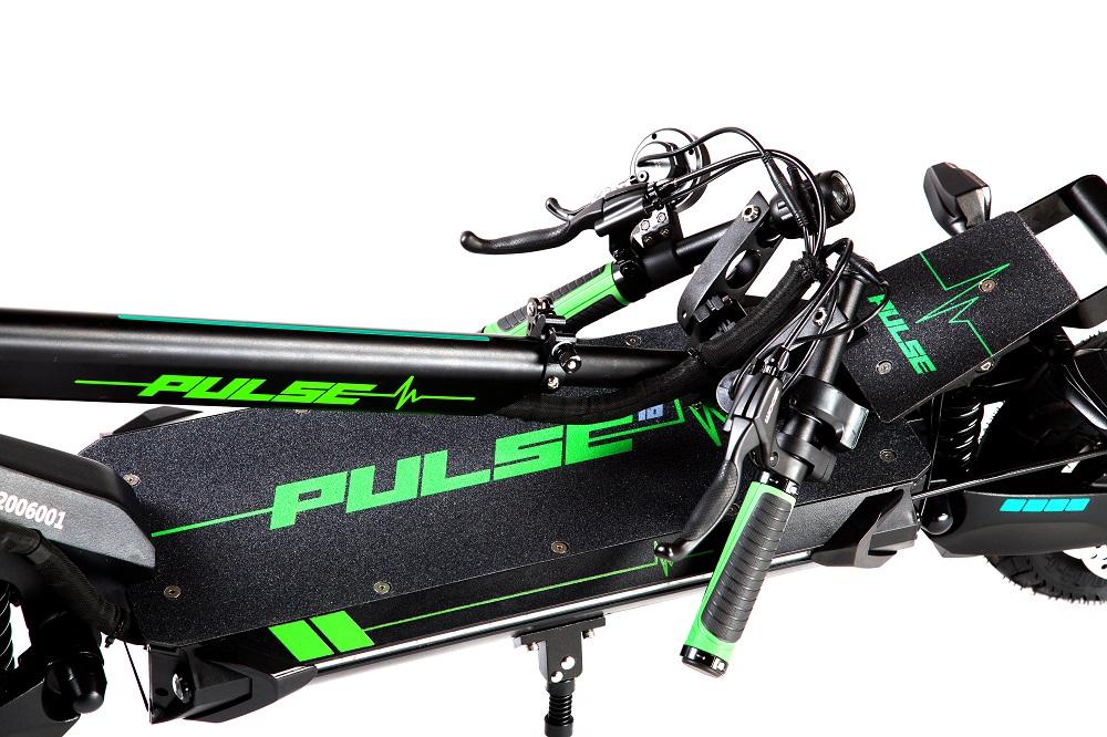 Pulse 10 single električni romobil 1200w - sklopljeni romobil, sklopljeni volan