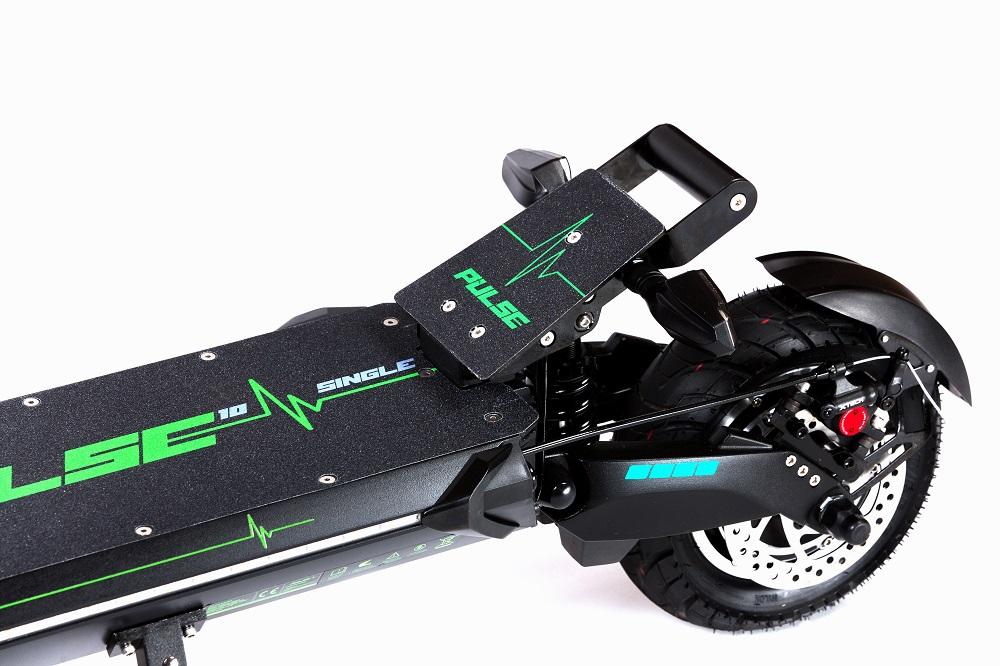 Pulse 10 single električni romobil 1200w - zadnji dio romobila, podloška za odmaranje noge tijekom vožnje